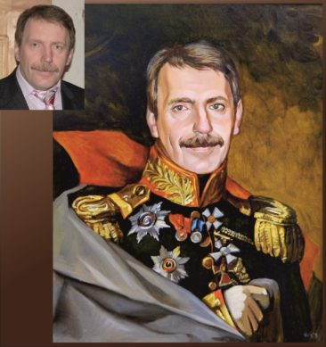 Настоящий портрет маслом на заказ в Нижневартовске…