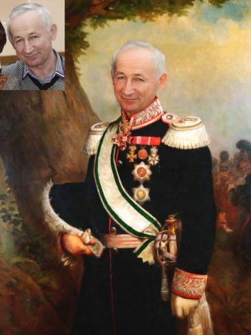 Где заказать исторический портрет по фото на холсте в Нижневартовске?