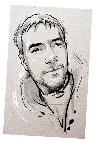 Портрет карандашом любимому мужу в Нижневартовске…