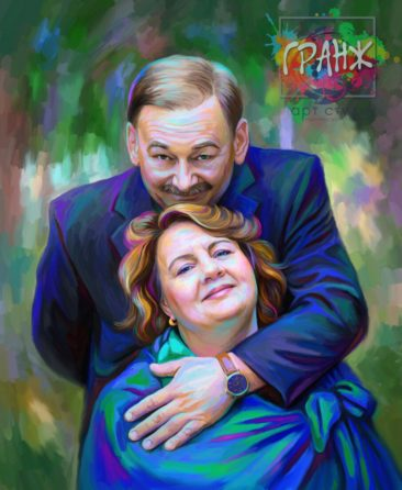 Портрет по фото на холсте Нижневартовск