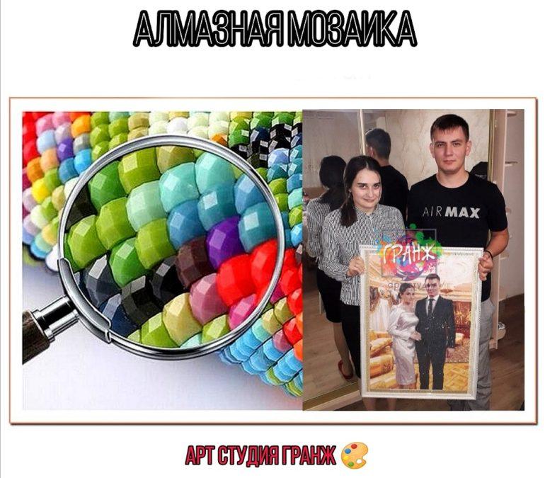 Алмазная мозаика по фото заказать в Нижневартовске